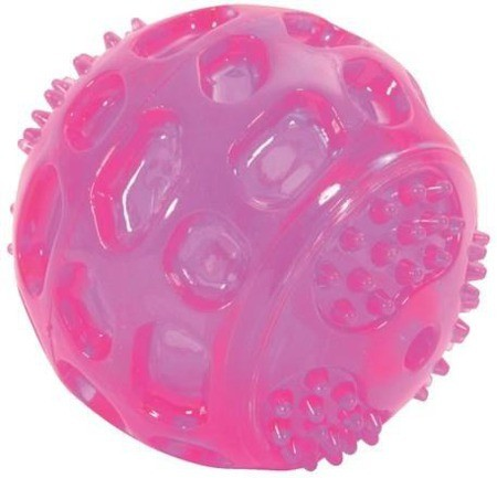 Zolux Piłka kauczkowa dźwiękowa 7,5cm
