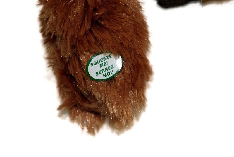 Skinneeez Zabawka Mini do szarpania wiewiórka 38cm