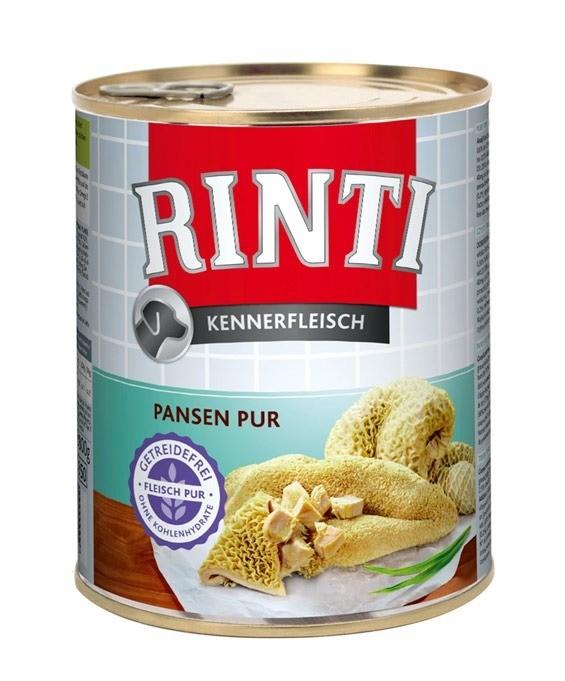 Rinti Kennerfleisch Pur 800g x 12
