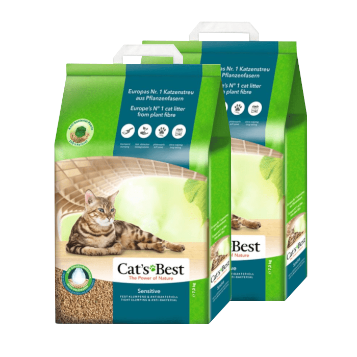 Żwirek Cats Best Sensitive (Green Power)