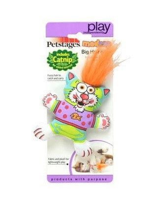 Petstages Pluszowy kot z kocimiętką