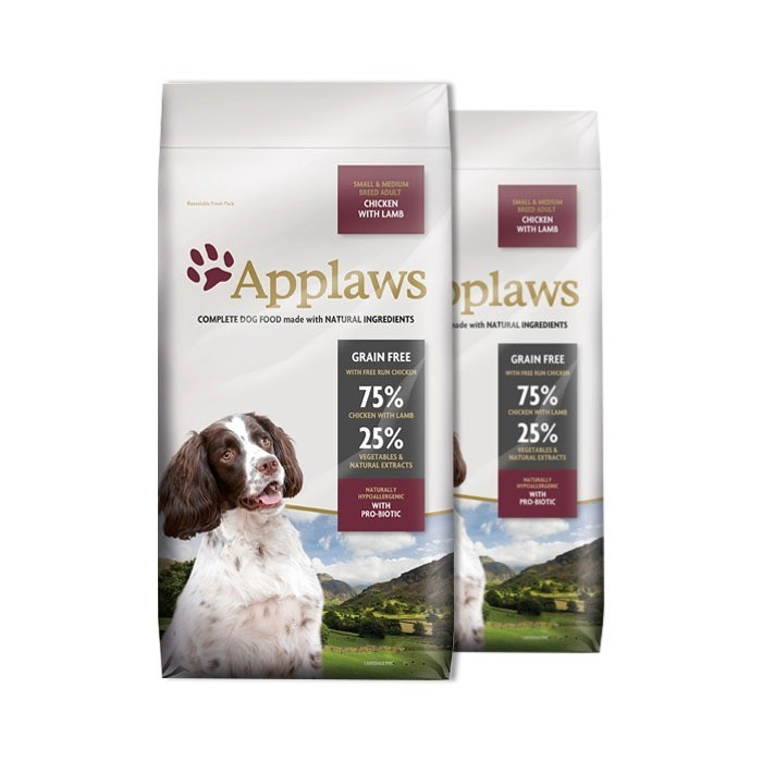 Applaws Adult Dog Small & Medium kurczak z jagnięciną