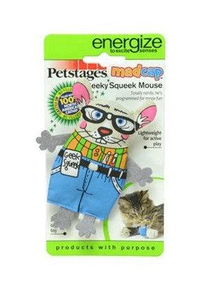 Petstages Pluszowa mysz z kocimiętką