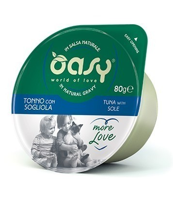 Oasy More Love cup 80g x 12