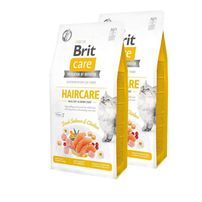 Brit Care Cat Grain-free Haircare Healthy & Shiny Coat