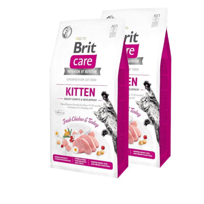 Brit Care Cat Grain-free Kitten Healthy Growth & Development
