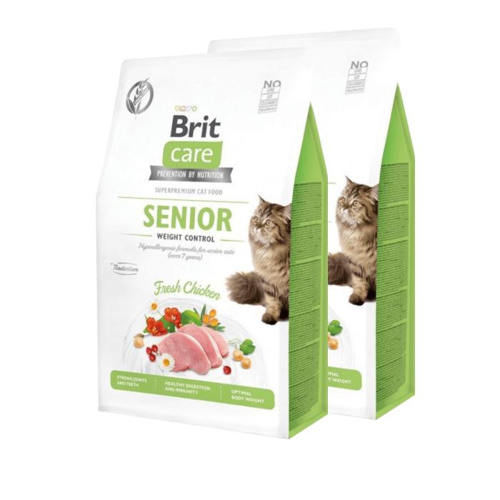 Brit Care Cat Grain-free Senior Weight Control