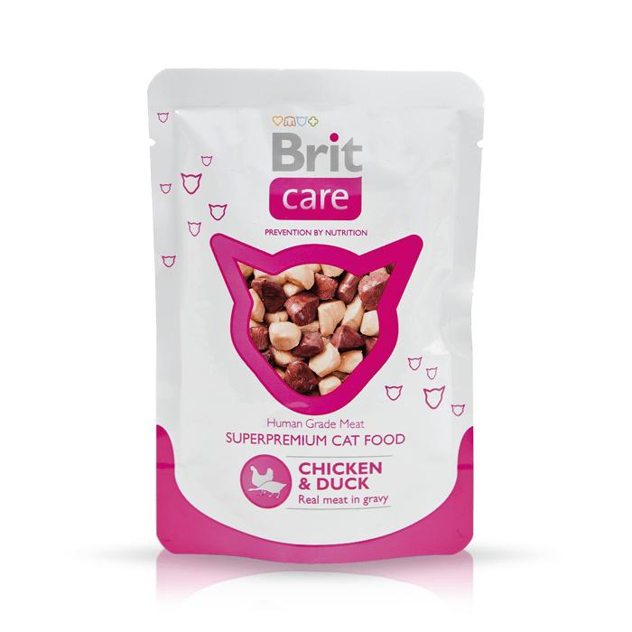 Brit Care Cat Pouch w sosie 80g x 12