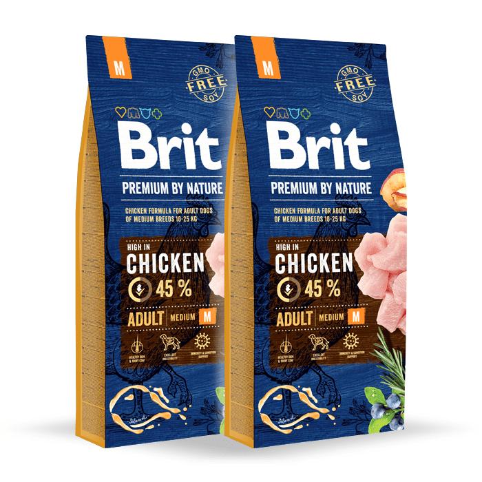 Brit Premium By Nature Adult Medium M