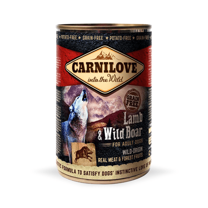 Carnilove Wild Meat Adult 400g x 12