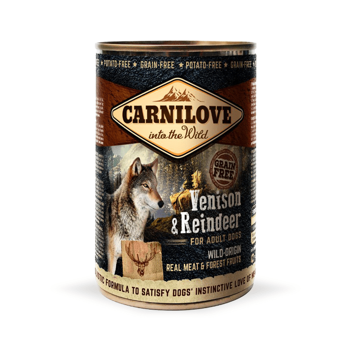 Carnilove Wild Meat Adult 400g x 4