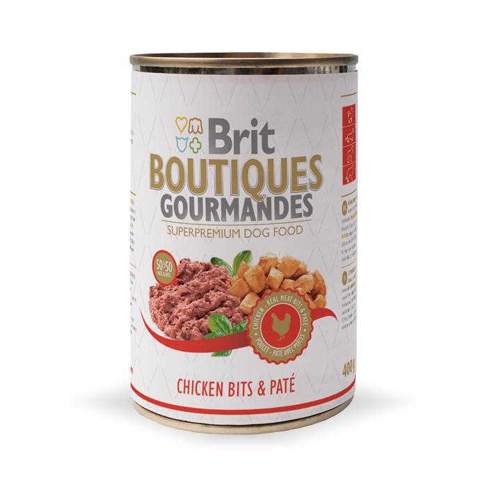 Brit Boutiques Gourmandes 400g x 12