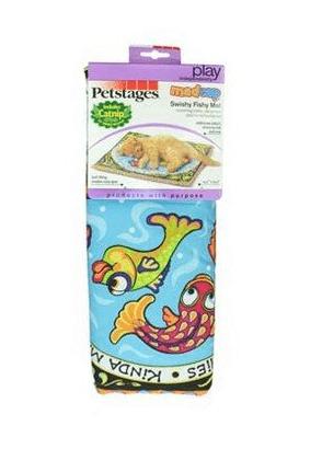 Petstages mata dla kota - staw z rybami