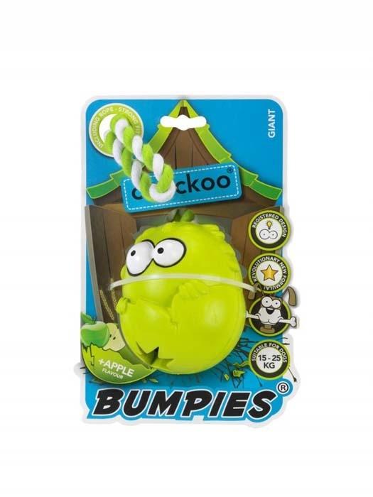 Coockoo Bumpies gryzak na przysmaki zapachowy z liną jabłko
