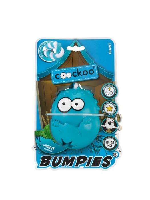 Coockoo Bumpies gryzak na przysmaki zapachowy z liną mięta