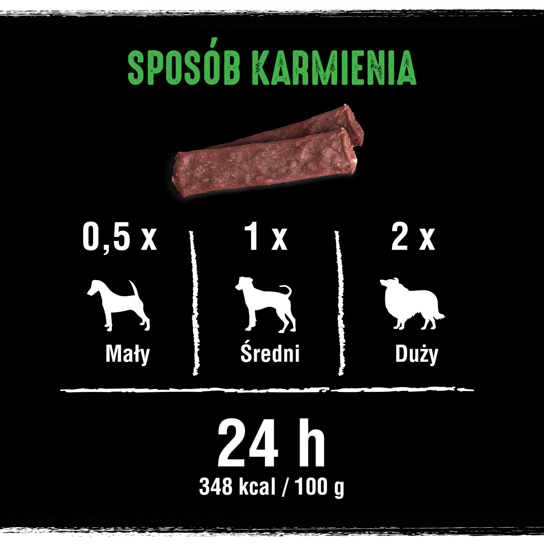 Crave Dog Protein Strip z wołowiną i jagnięciną 55g