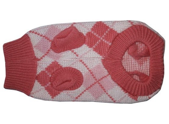 Doggy Fashion Golf różowy jasny ze wzorem 30cm