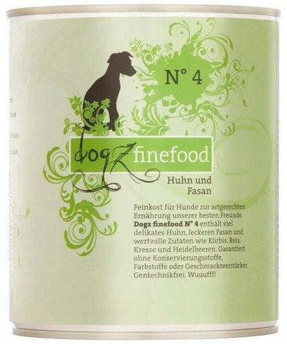 Dogz Finefood puszka 800g x 4