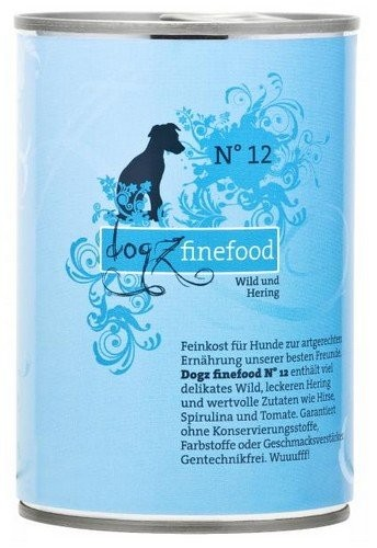 Dogz Finefood puszka 400g x 12