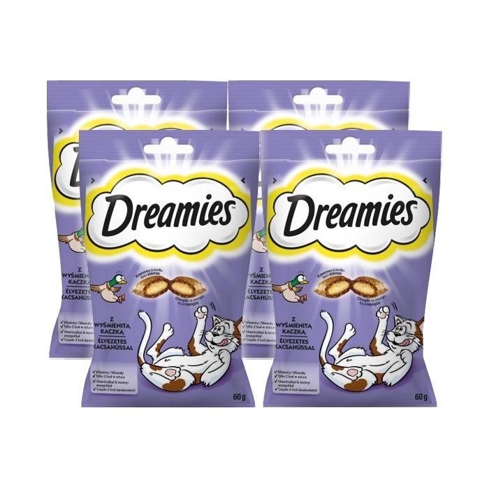 Dreamies przysmak dla kota kaczka 60g