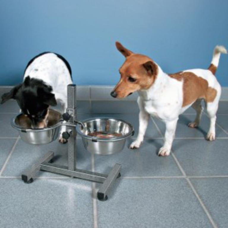 Trixie stojak regulowany na miski 1,8l