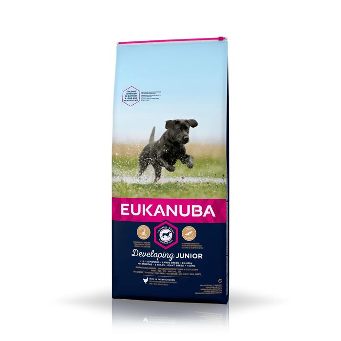 Eukanuba Developing Junior Large & Giant Breed