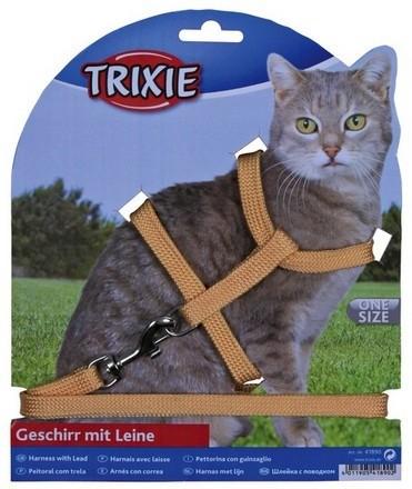 Trixie Szelki dla kota nylon 22–42cm/10 mm