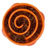 Outward Miska spowalniająca jedzenie - pomarańczowa, mały rozmiar