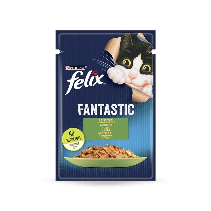 Felix Fantastic Adult w galaretce 85g x 12
