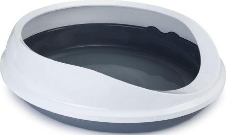 Savic Kuweta dla kota Figaro szara 55 × 48,5 × 15,5cm