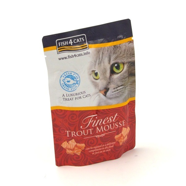 Fish4Cats Finest Mousse saszetka 100g x 12