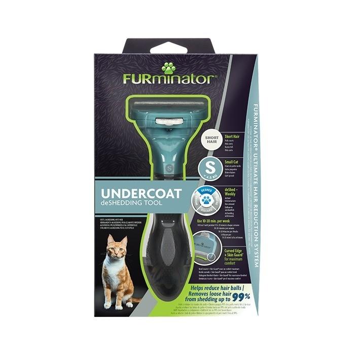 Furminator dla kotów krótkowłosych small