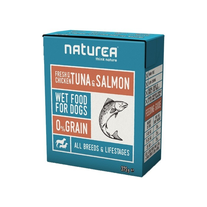 Naturea Grain Free 375g x 4