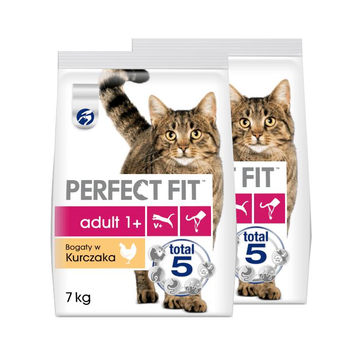 PERFECT FIT (Adult 1+) Bogaty w kurczaka - sucha karma dla kota dorosłego