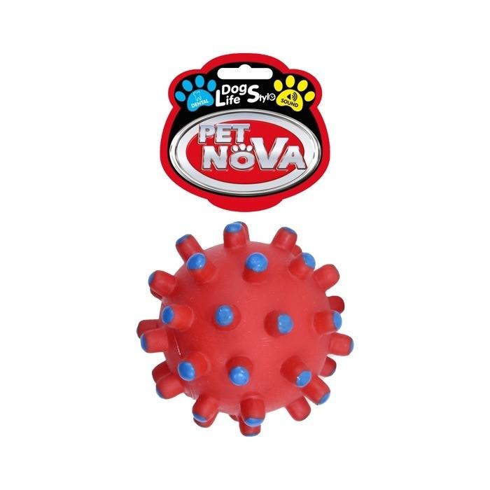 Pet Nova Piłka jeżowa DentBall z dźwiękiem