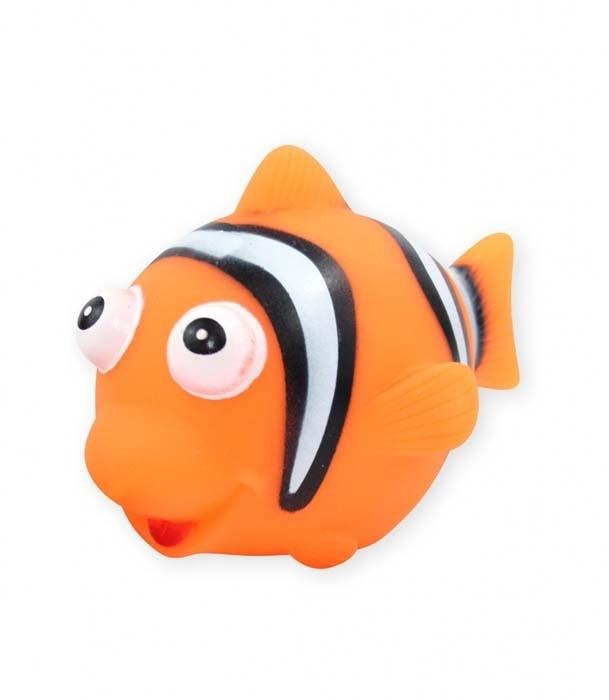 Pet Nowa Rybka gumowa Nemo z dźwiękiem 13,5cm