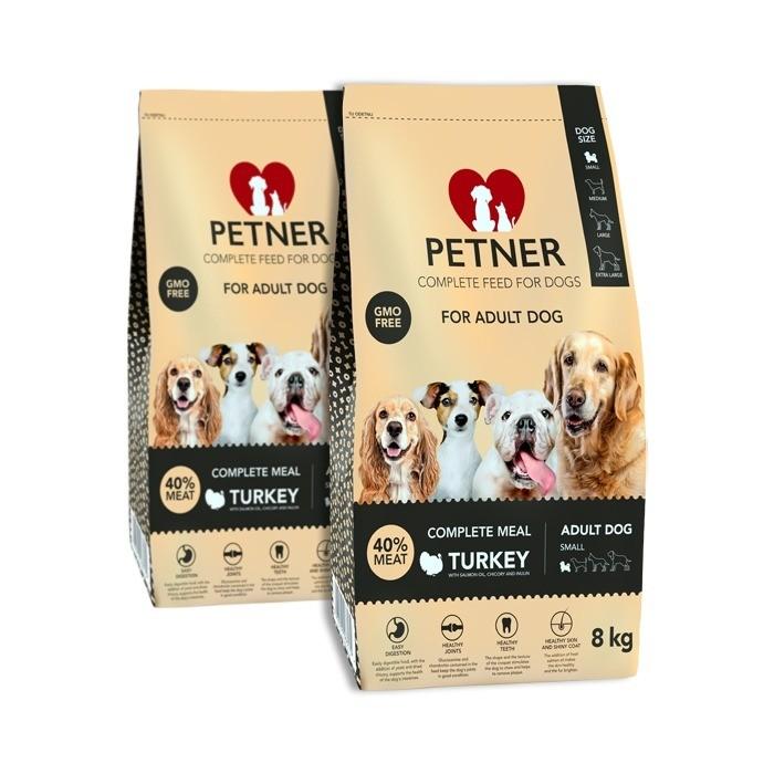 Petner Adult Dog Small Breeds z indykiem