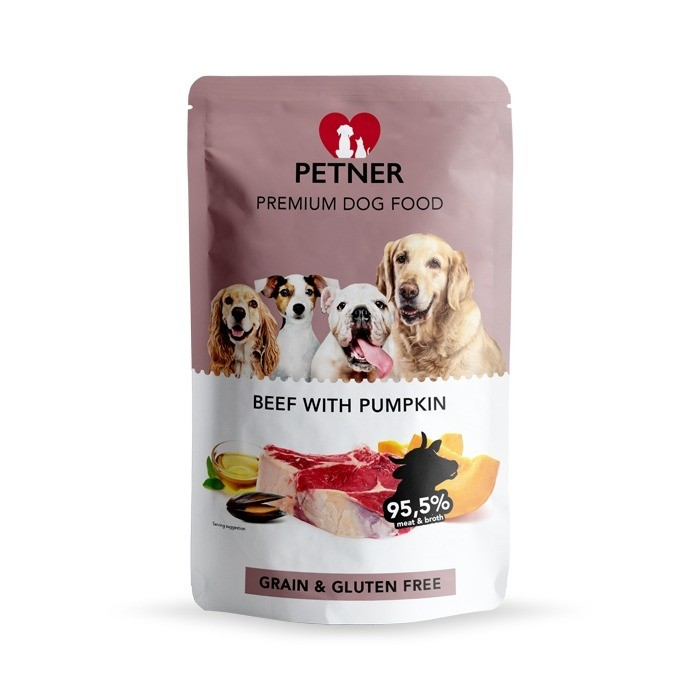 Petner Dog Grain Free 500g x 12