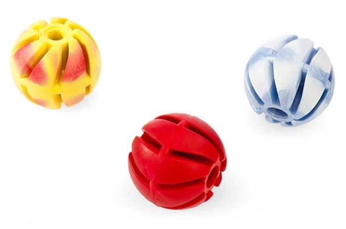 Sum Plast Piłka spiralna zapachowa z gumy