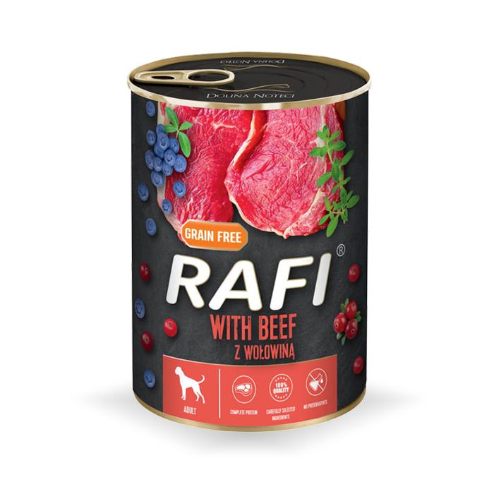 Rafi z borówką i żurawiną 400g x 4