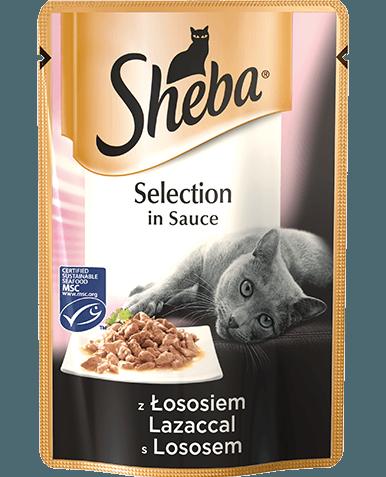 Sheba Selection w sosie 85g x 12