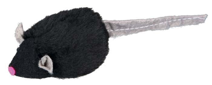 Trixie Myszka piszcząca z pluszu 6,5cm