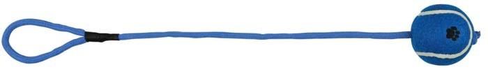 Trixie Piłka tenisowa na sznurku 6cm x 50cm