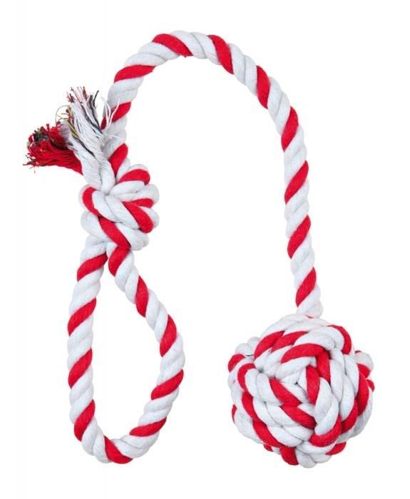 Trixie Piłka do gry ze sznura 50cm