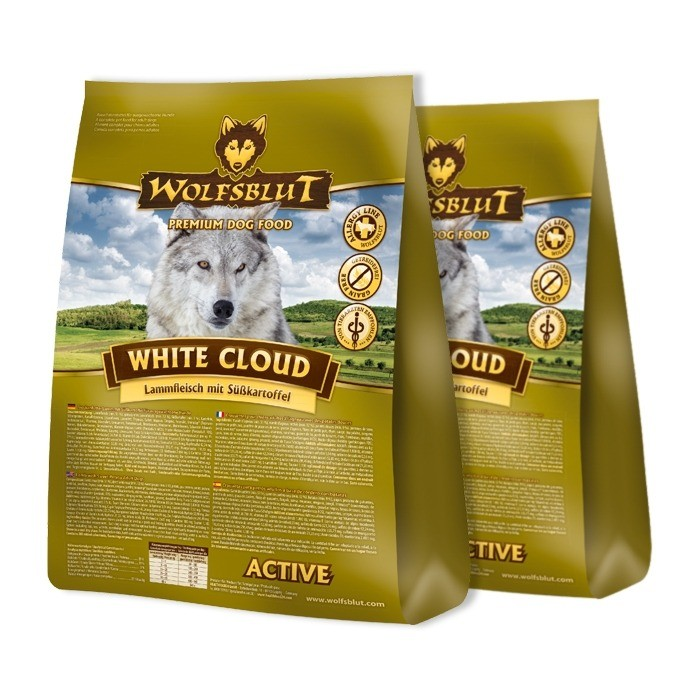 Wolfsblut Dog White Cloud Active