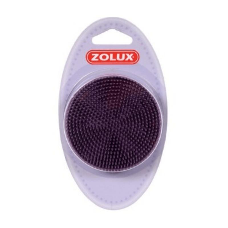 Zolux gumowa szczotka dla kota