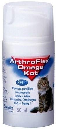 Suplementy - ScanVet ArthroFlex Omega żel dla kota 50ml