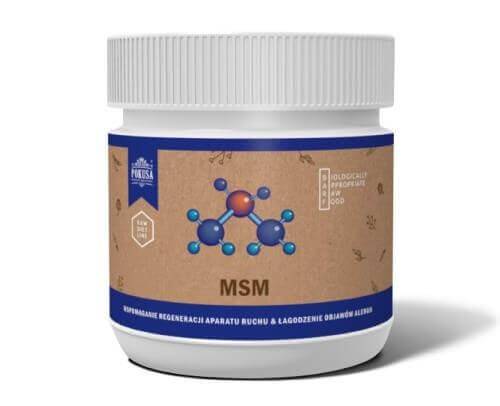 Suplementy - Pokusa RawDietLine MSM metylosulfonylometan 300g