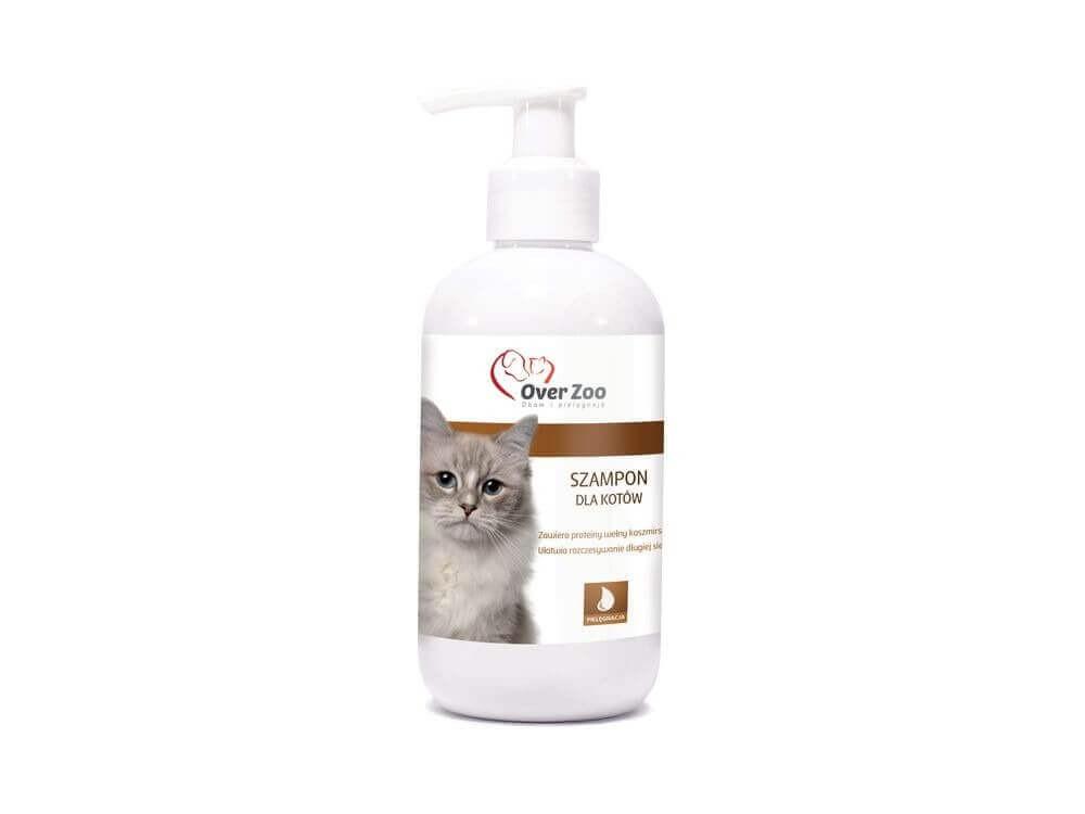 Higiena, pielęgnacja sierści - Over zoo szampon dla kotów 250ml