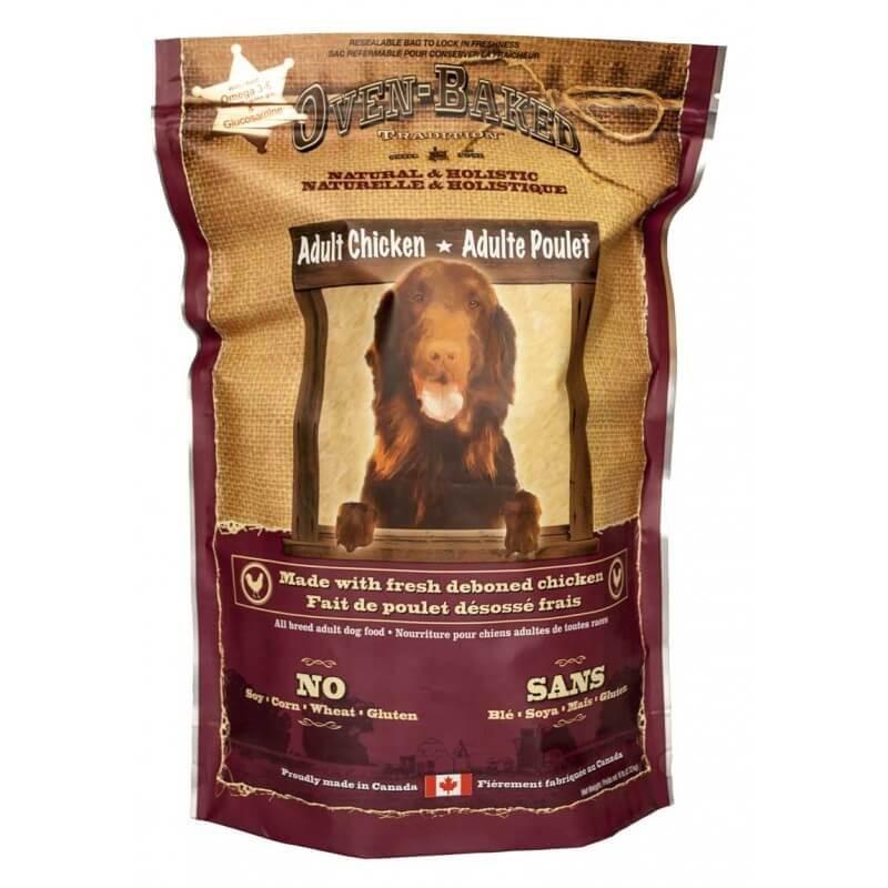 Karmy suche dla psa - Oven Baked Tradition z kurczakiem 12,25kg